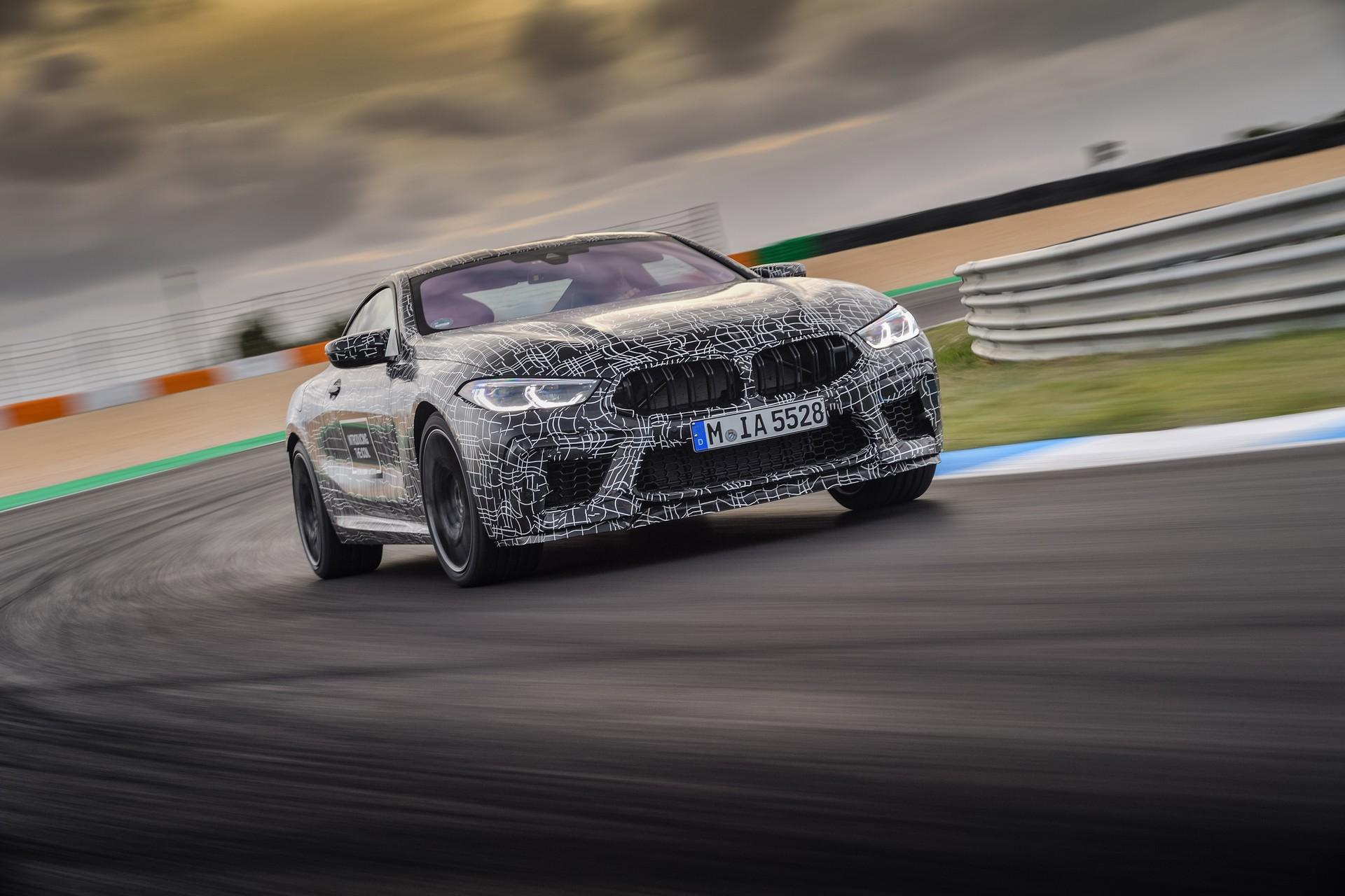 BMW M8 – Na finiszu