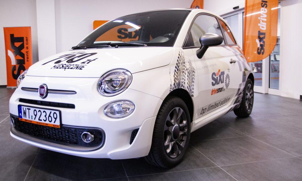 BP z wypożyczalnią Sixt razem na rynku długoterminowego wynajmu aut