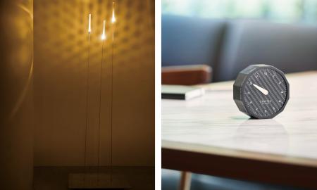 Inaho i World Clock, czyli lampa i zegarek od Lexusa