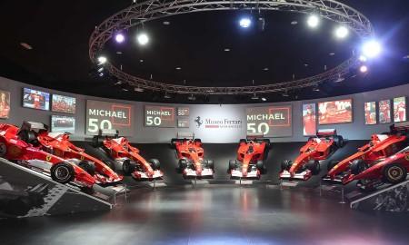 Michael Schumacher – wystawa w Maranello