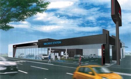 Samowystarczalny energetycznie salon Mitsubishi