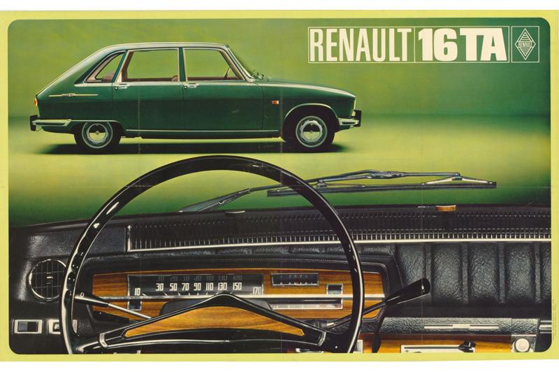 Renault 16 – Pierwszy seryjny hatchback