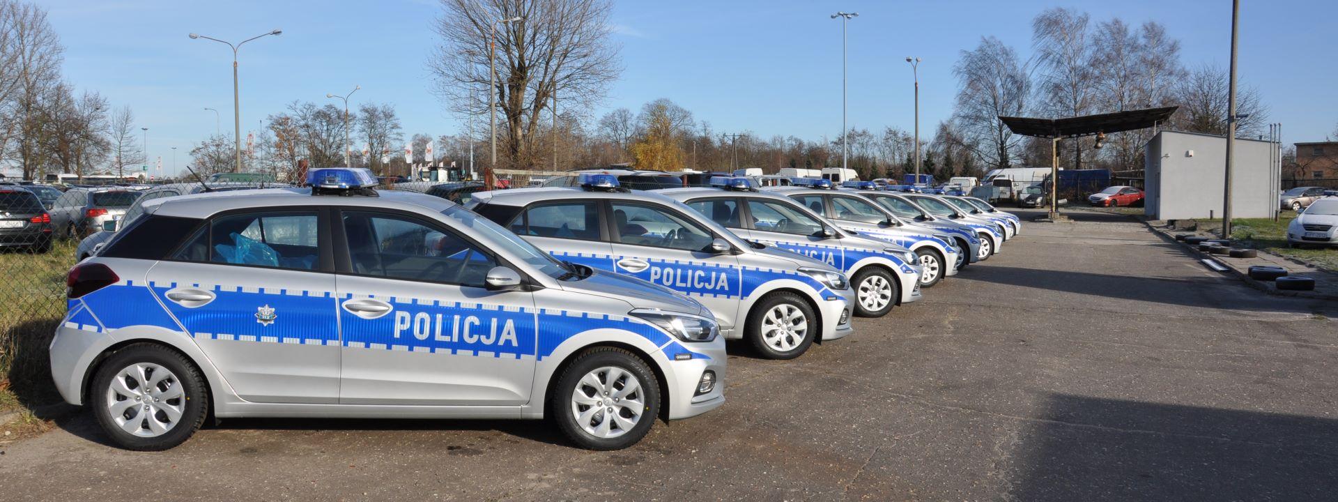 Policja w Hyundaiach