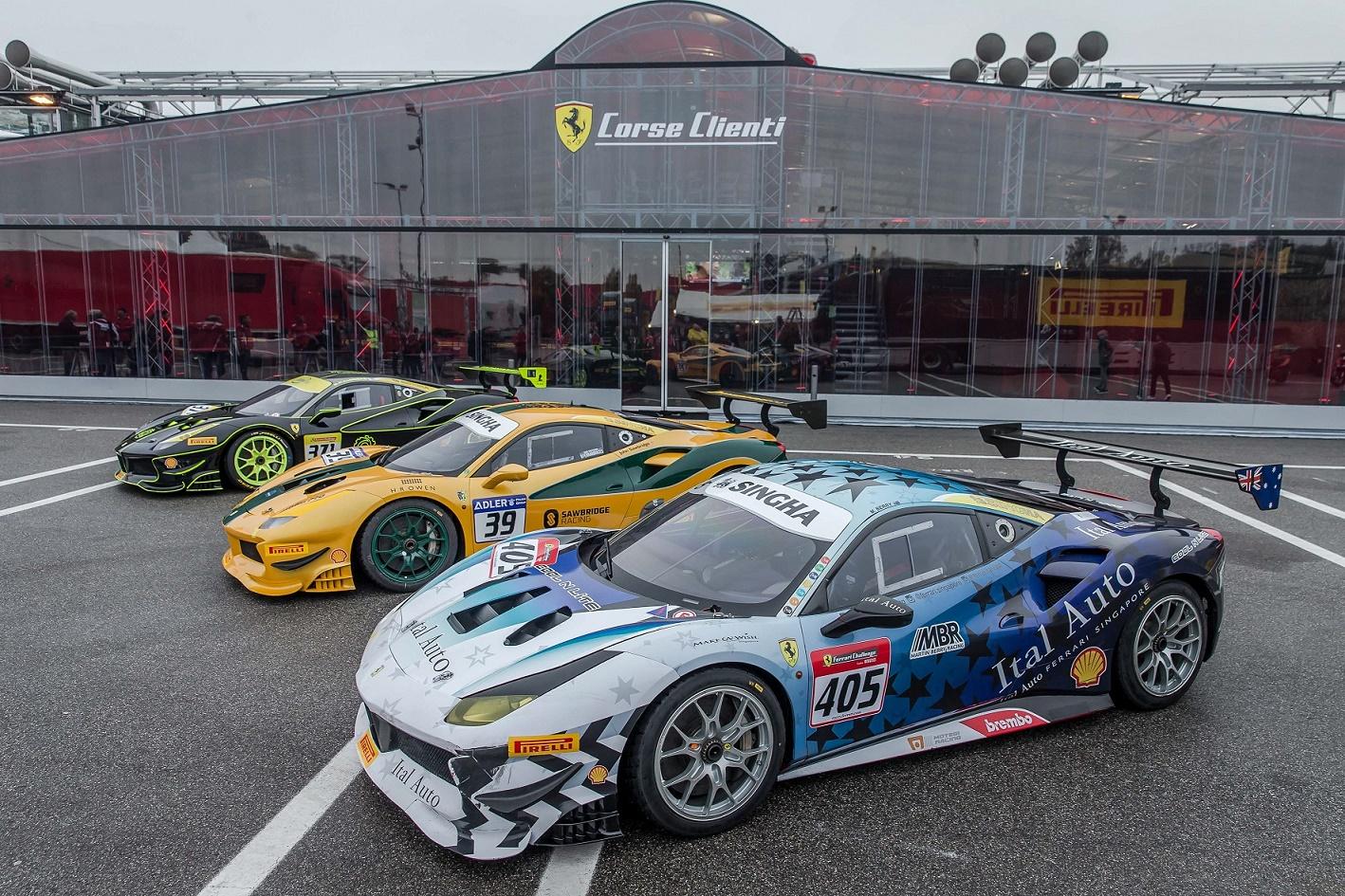Wygraj zaproszenie na Ferrari Challenge Race