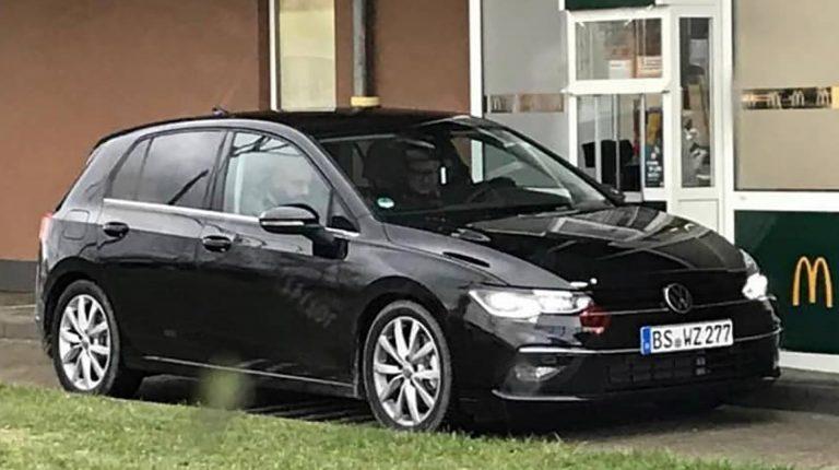 VW Golf Mk8 przyłapany