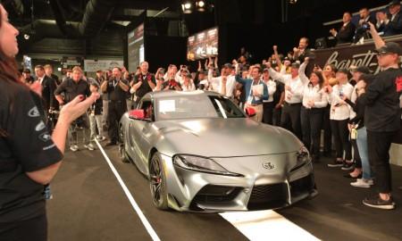 Nowa Toyota Supra sprzedana na aukcji za 2,1 mln dolarów