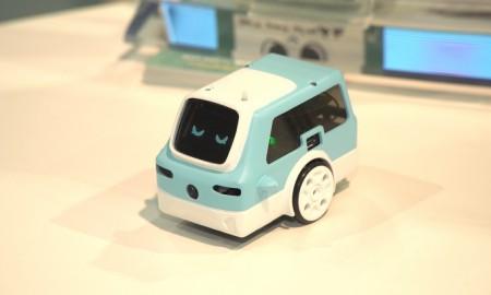Autonomiczny, rozpoznający emocje minipojazd ma oswajać ze sztuczną inteligencją