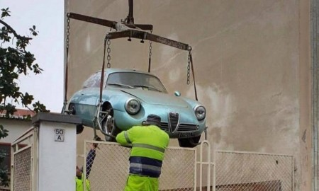Wyjątkowa Alfa Romeo odnaleziona po 35 latach