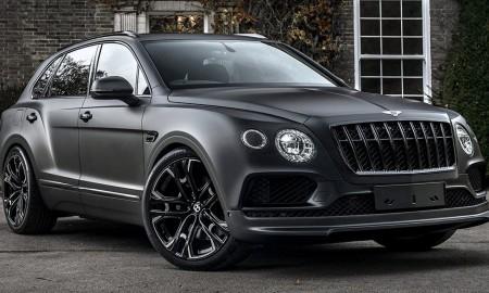 Bentley Bentayga od Kahn Design, czyli Darth Vader na drodze