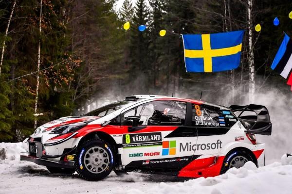 Ott Tanak z wygraną w Szwecji
