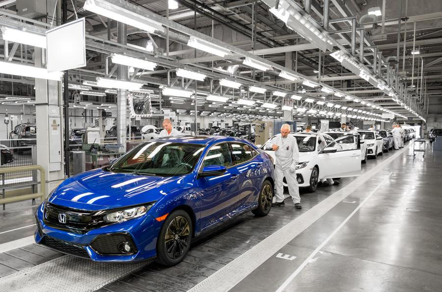 Honda planuje zamknąć swoją brytyjską fabrykę w Swindon