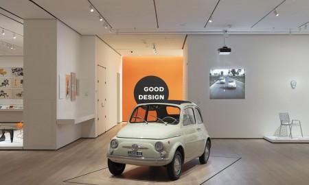 Fiat 500 w MoMA w Nowym Jorku