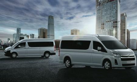 Nowa Toyota Hiace – 17-osobowym vanem
