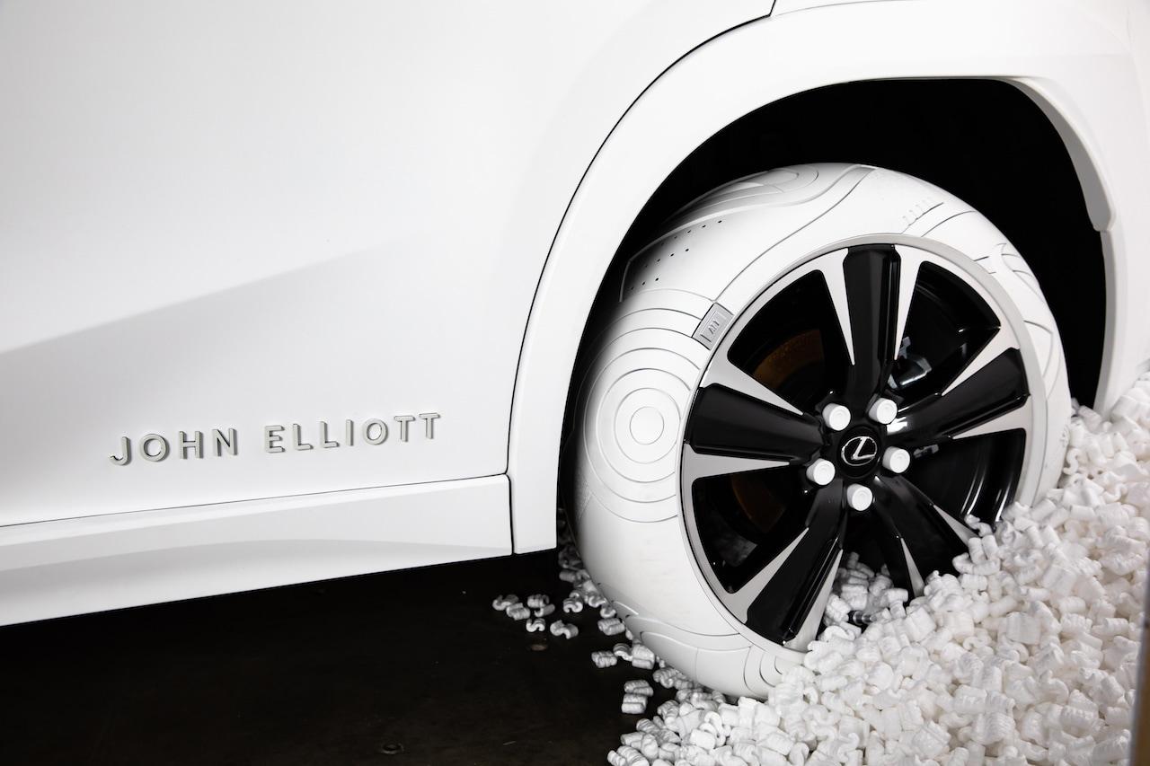 Opony inspirowane butami od Lexusa
