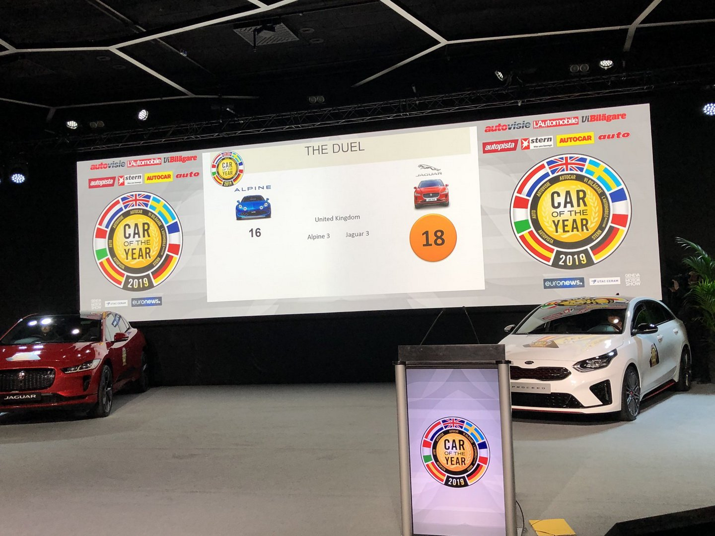 Car of the Year 2019, to…