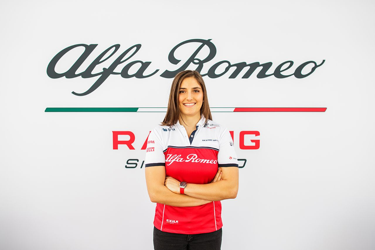 Tatianą Calderón pozostaje kierowcą testowym Alfy Romeo Racing