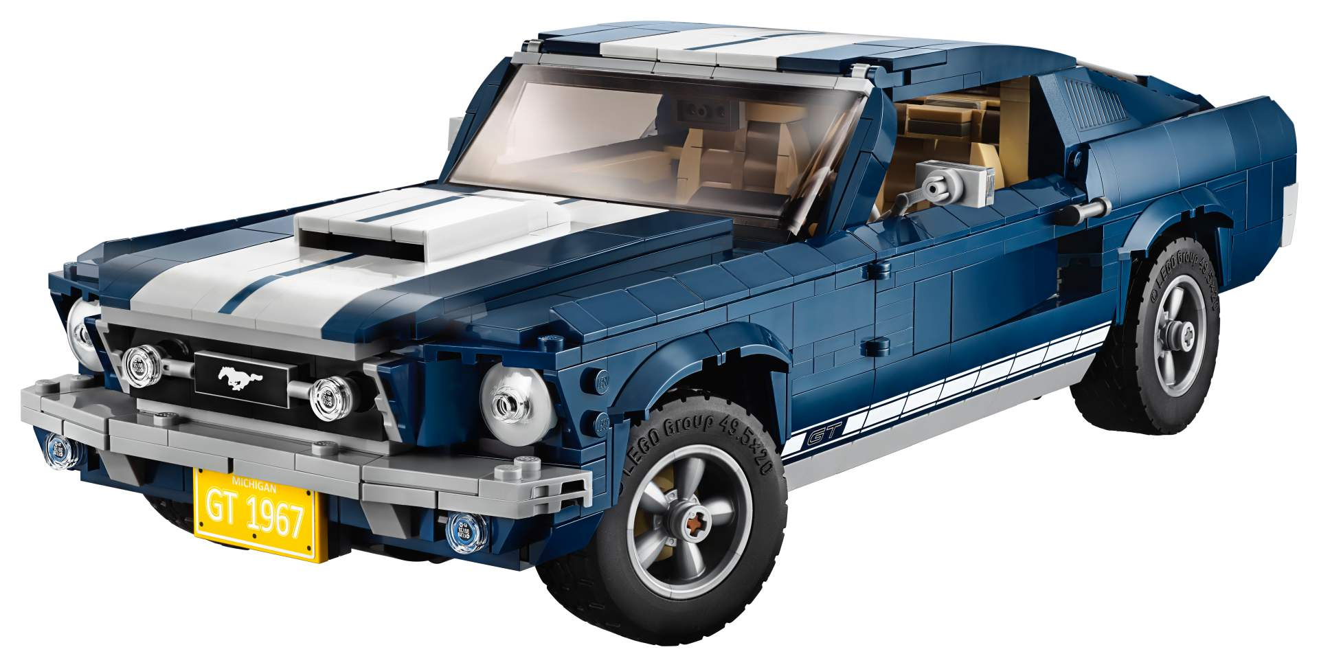 Ford Mustang od LEGO