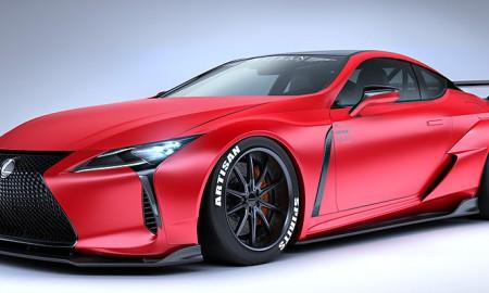 Tuning Lexusa LC – cztery projekty