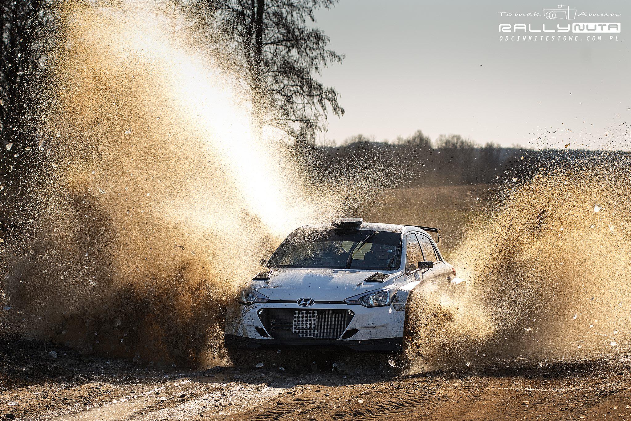 Maciej Lubiak Hyundaiem R5 w RSMP 2019