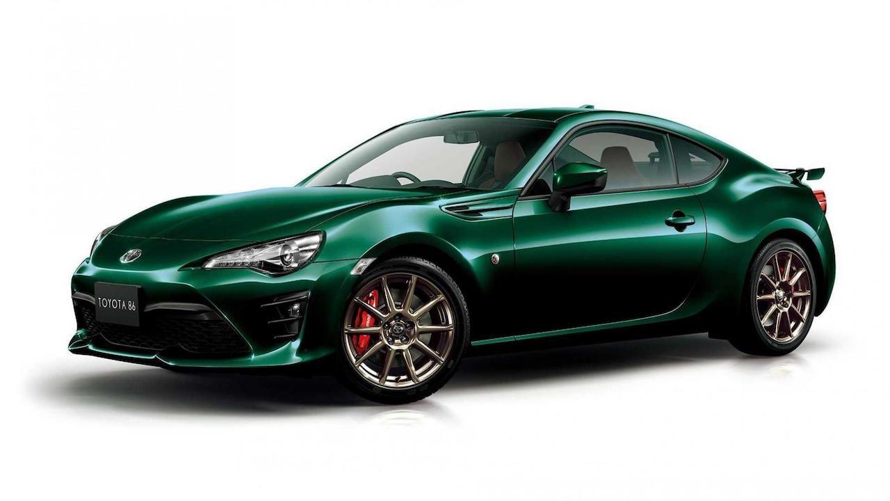 Toyota GT86 British Green Limited