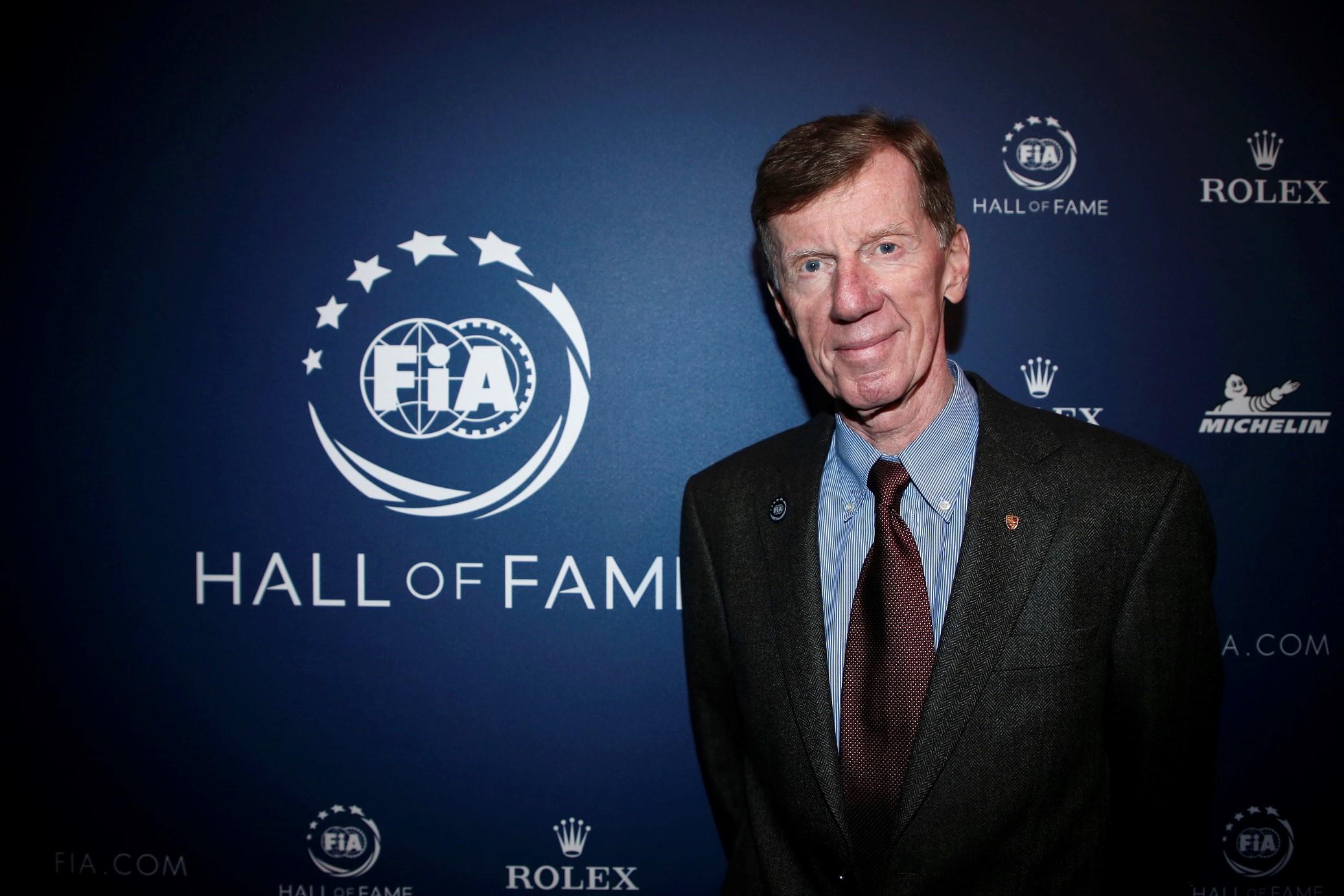 Walter Röhrl w Galerii Sław FIA