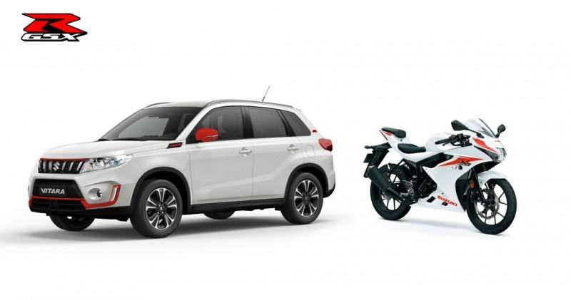 Limitowana edycja Vitary GSX-R i motocykla GSX-R 125
