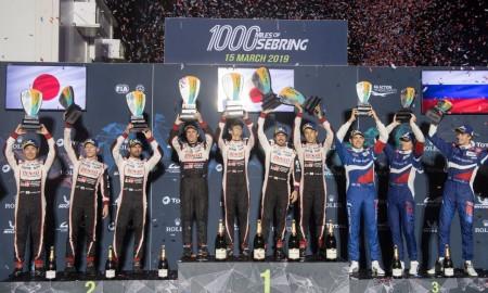 Podwójne zwycięstwo i rekordy Toyoty w Sebring