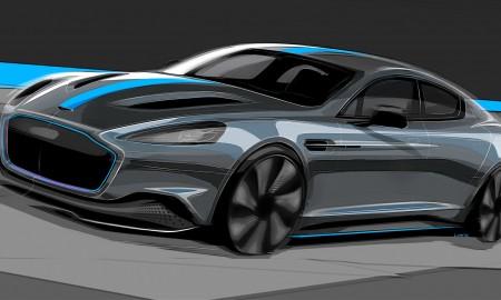 James Bond w elektrycznym Astonie