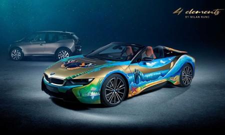 BMW i8 Roadster 4 elements by Milan Kunc