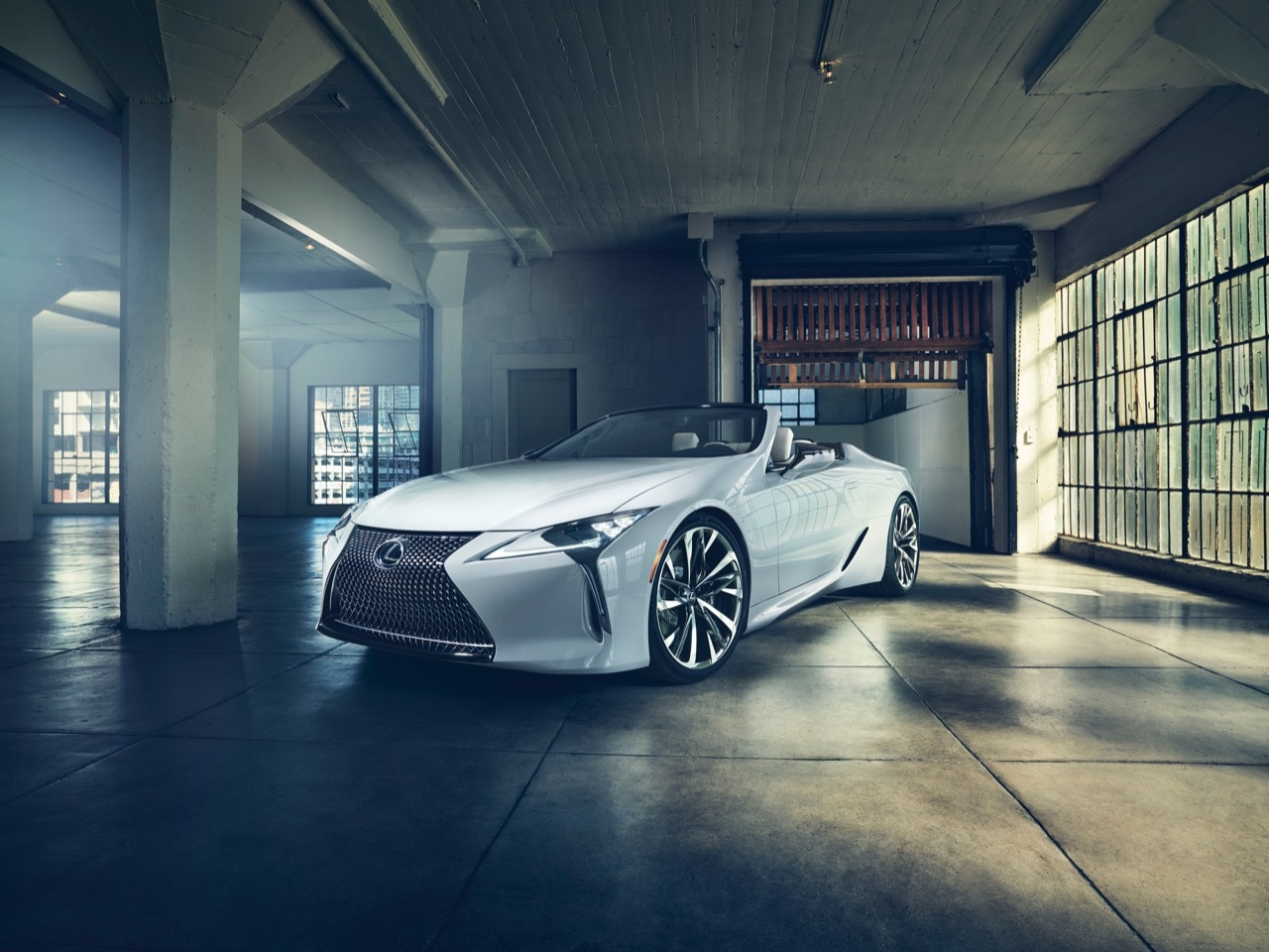 Lexus LC Convertible - co wiadomo?