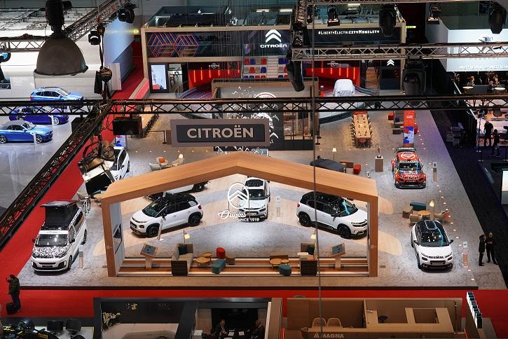 Stoisko Citroëna nagrodzone Creativity Award na Geneva Motor Show 2019
