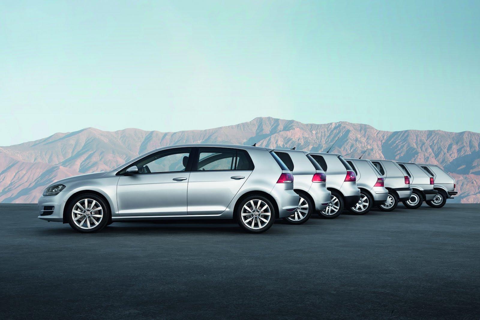 45. urodziny VW Golfa