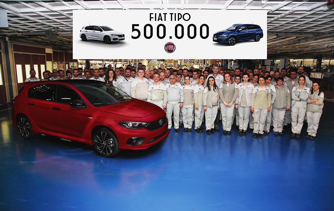 Pół miliona Fiatów Tipo