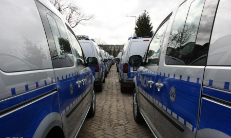 Nowe radiowozy dla Policji