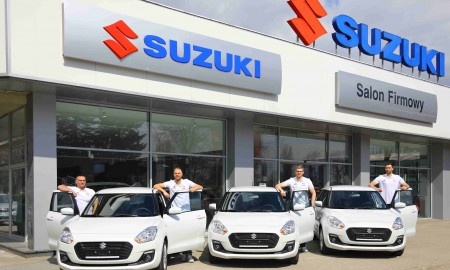 Suzuki Swift za awans