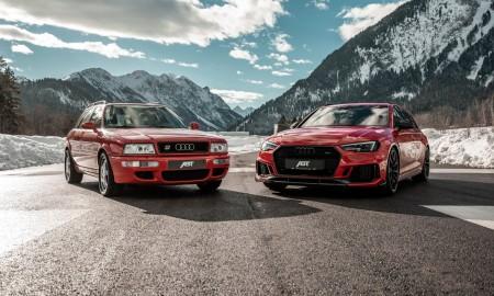 Audi RS2 vs Audi RS4 Avant