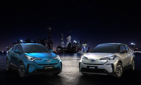 Elektryczna Toyota C-HR