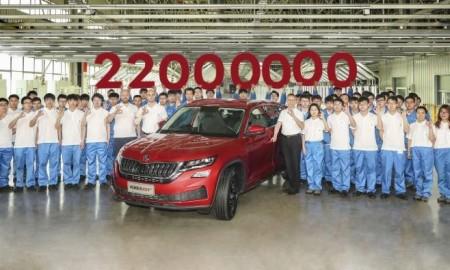 22-milionowy samochód Skody