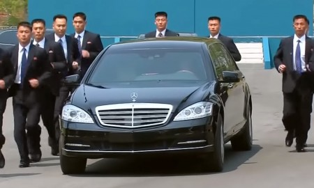 Skąd Kim Jong Un ma swoje opancerzone limuzyny Mercedesa?