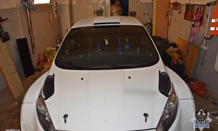 Odnaleziony rajdowy Ford Fiesta
