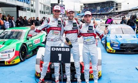 DTM – całe podium dla Audi