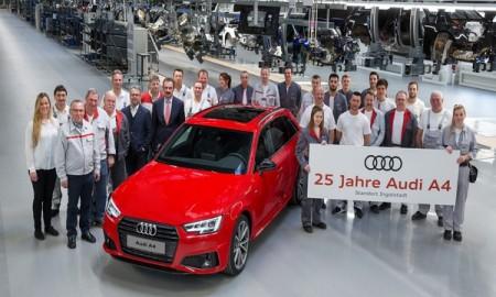 Srebrny jubileusz - Audi A4 świętuje 25. urodziny