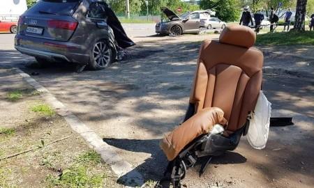 Audi Q7 na pół
