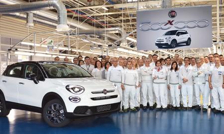 500 000 egzemplarzy Fiata 500X