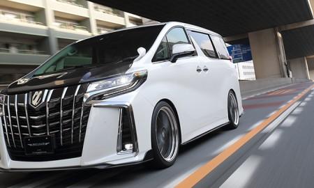 Lexus LM – Podatny na tuning