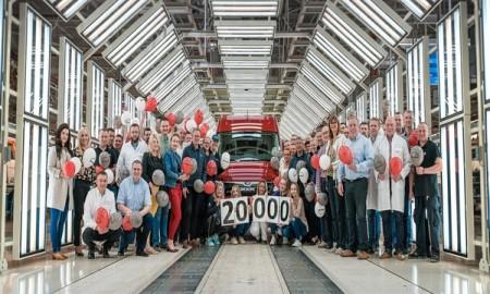 20 000 MAN TGE opuścił linię produkcyjną fabryki Volkswagen Poznań