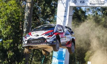 Ott Tänak walczy w Portugalii o prowadzenie w WRC
