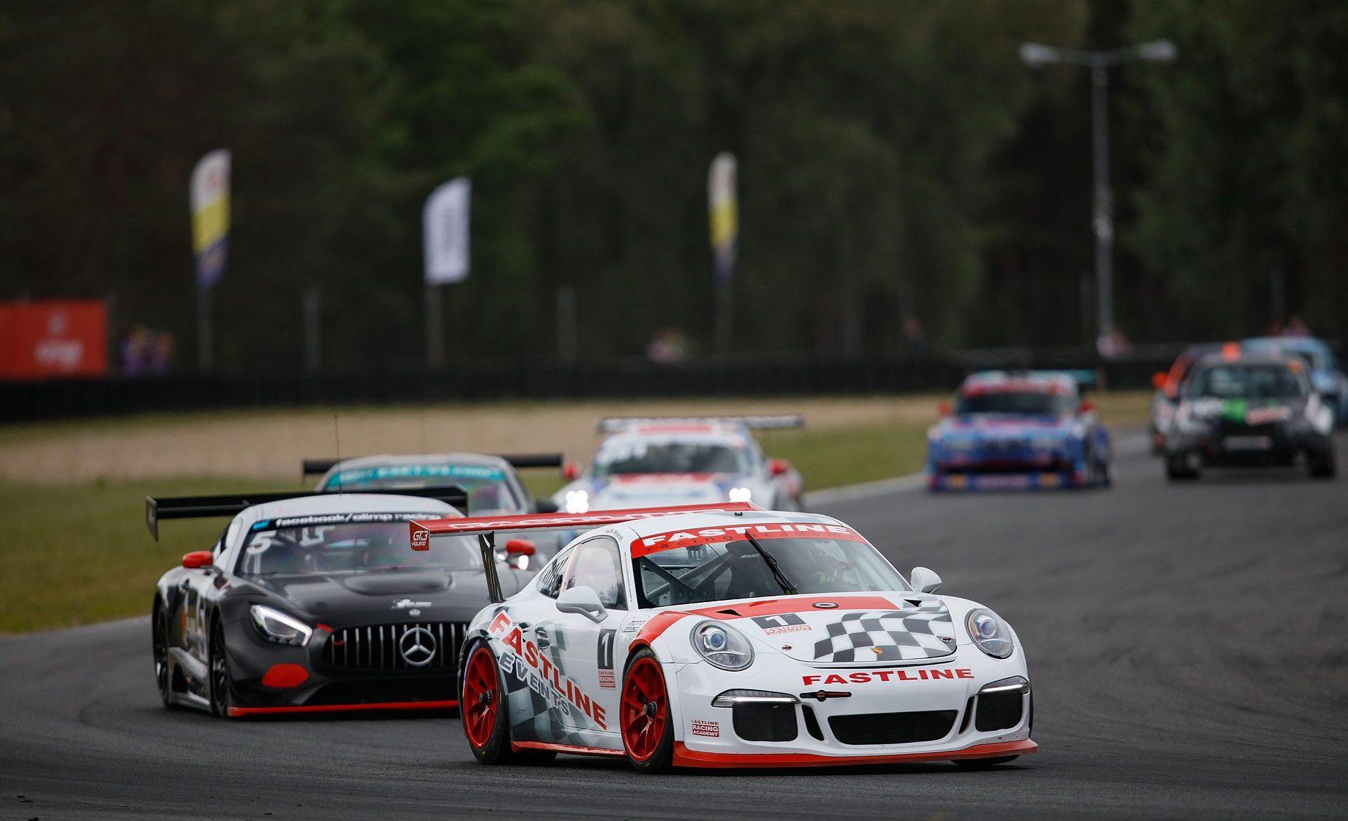 Weekend WSMP - imponujące auta GT3, zacięta walka w pucharach markowych