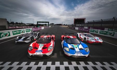 Fordy GT w wyścigu 24H Le Mans
