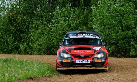 Subaru Poland Rally Team w Rajdzie Žemaitija
